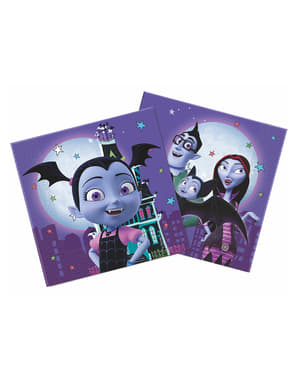 Set 20 servetter Vampirina