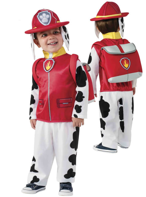 Marshall Costume for Boys - Paw Patrol