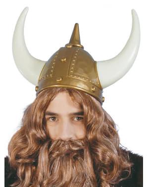 Capacete de viking valente