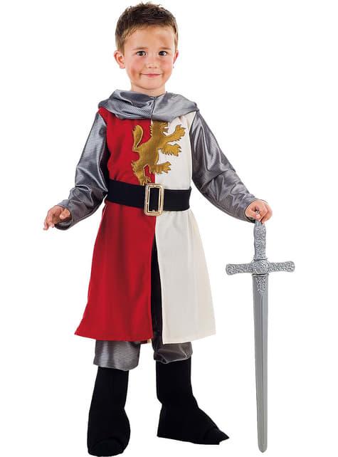 Jungenkostüm katholischer Ritter im Mittelalter