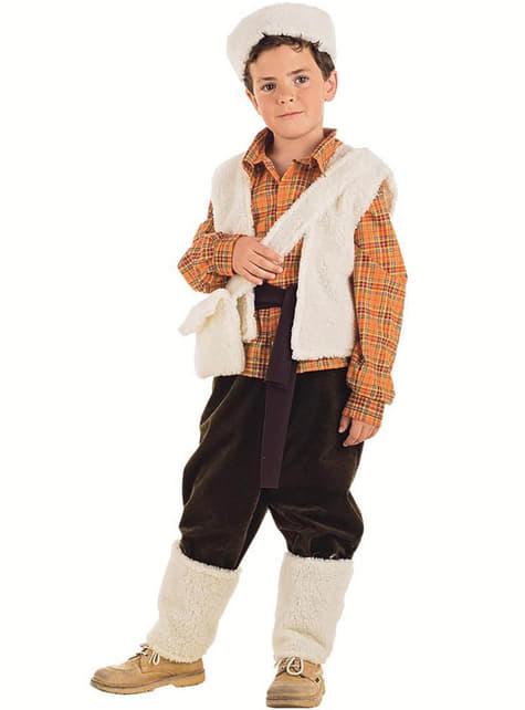 Pastiersky detský kostým