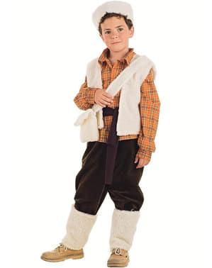 Fato de pastorzinho para menino