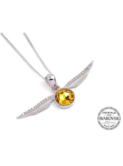 Harry Potter Golden Snitch Swarovski Necklace