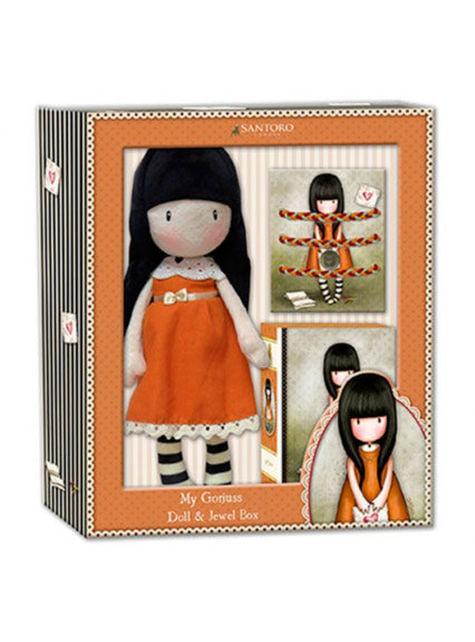 Boîte à bijoux Gorjuss orange