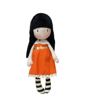 Peluche de Gorjuss I Gave You My Heart naranja 30 cm