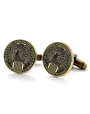 Magical congress Fantastic Beasts cufflinks