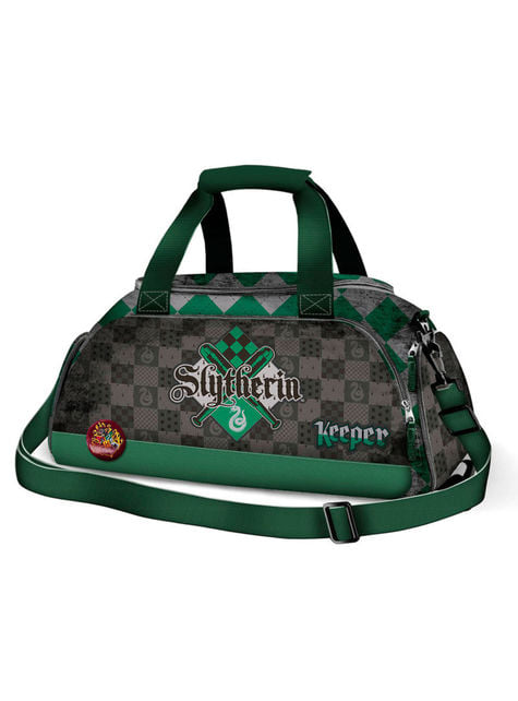 Bolsa deportiva de Quidditch Slytherin para adulto - Harry Potter