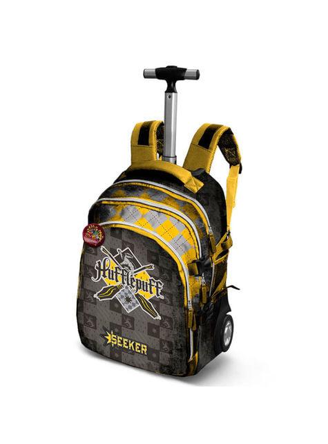 Quidditch Hufflepuff Roller Backpack for Kids - Harry Potter