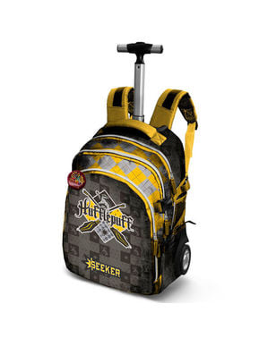 Quidditch Hufflepuff Roller Backpack for Kids - Harry Potter