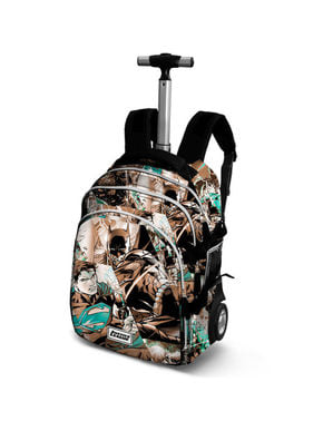 League of Justice Roller Backpack for Kids