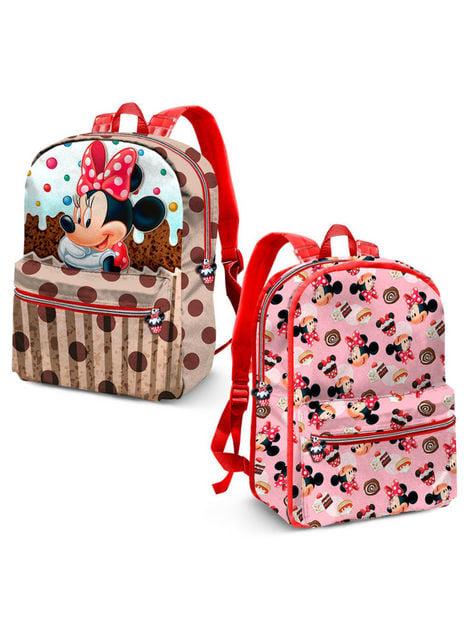 Mochila de Minnie Mouse infantil reversible - Disney