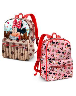 Ghiozdan Minnie Mouse pentru copii reversibil - Disney