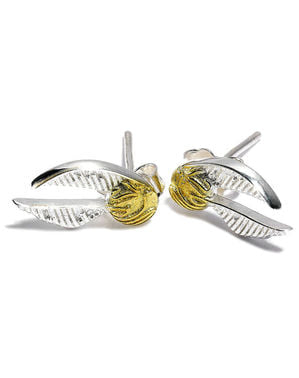 Golden Snitch Earrings - Harry Potter