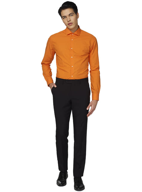 Pomarańczowa koszula Opposuit dla mężczyzn