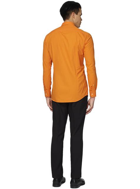 The orange Opposuit shirt for men