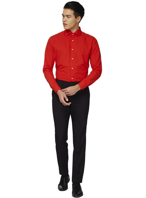 Camisa Red Devil Opposuit para hombre