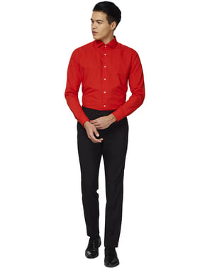 Camicia Rossa uomo