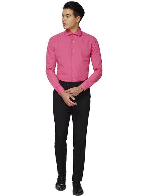 Hr pink opposuit trøje til mænd