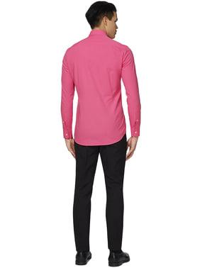 पुरुषों के लिए श्री गुलाबी Opposuit शर्ट