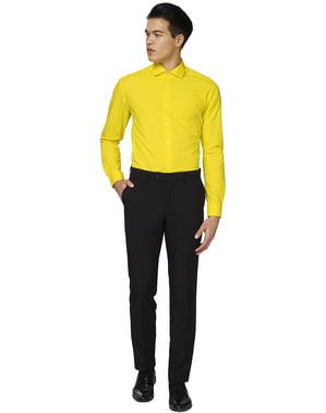 पुरुषों के लिए येलो फेलो ओपोसिट शर्ट