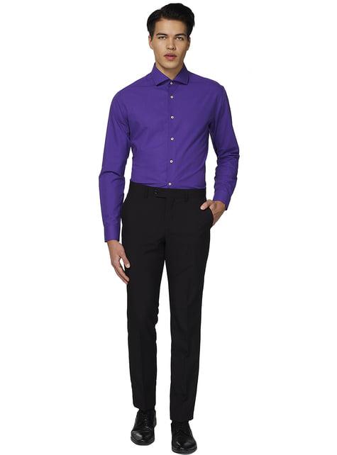 Chemise Purple Prince Opposuit homme