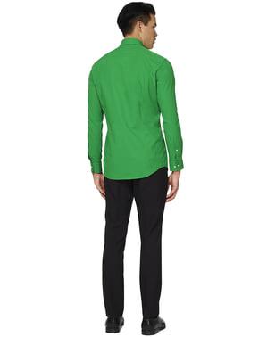 Camicia verde uomo