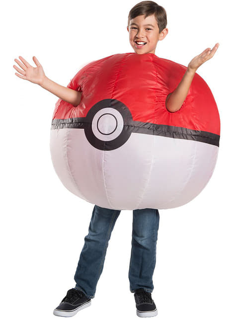 Disfraz hinchable de Poké Ball infantil - Pokemon