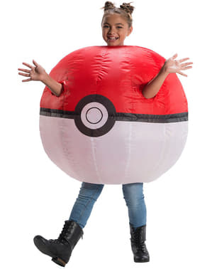 Déguisement gonflable Poké Ball enfant - Pokemon