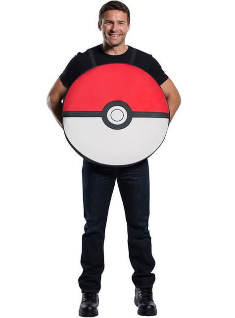 Pokeball kostuum voor volwassenen - Pokémon