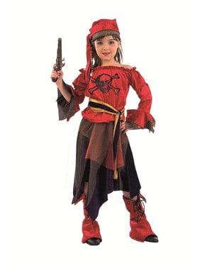 Fato de Pirata corsária para menina