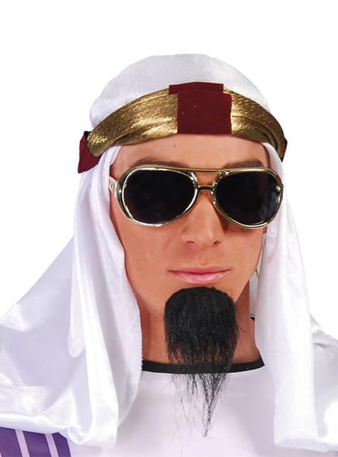 Turbante de jeque árabe