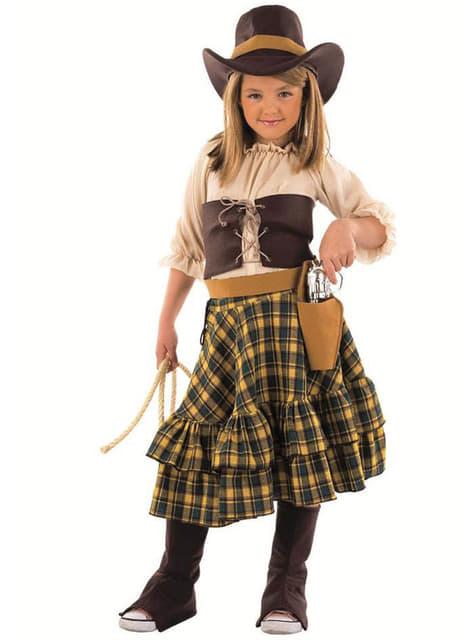 Detský kostým cowgirl banditka