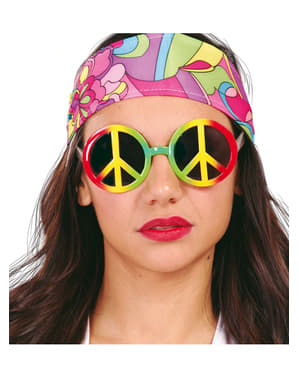 Ochelari hippie multicolori