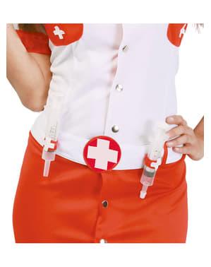 Krankenschwester Gürtel mit Spritzen