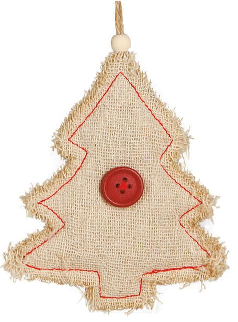 Árvore de Natal rústica para a árvore de Natal