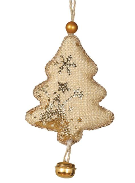 Árvore de Natal com guizo para a árvore de Natal