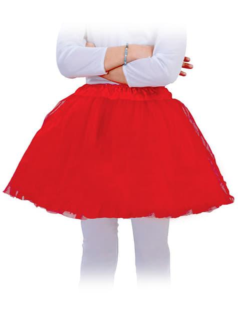 Tutu rouge pour enfant