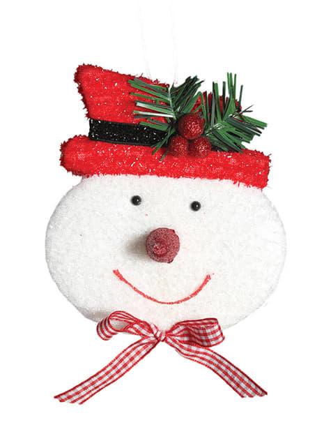4 Snowman Tree Decorations