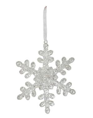Klar Snefnug Juletræs Ornament
