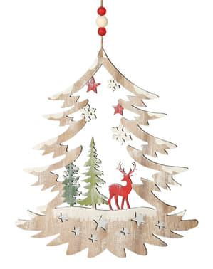 Mini Weihnachtsbaum mit Rentier