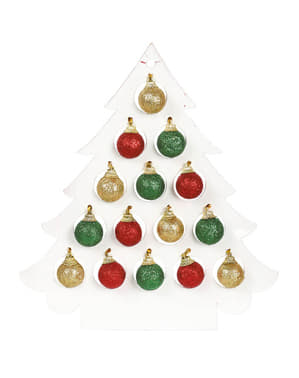 Glitrende juletræer