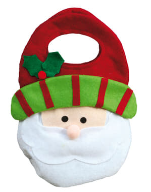 Santa Claus Felt Bag