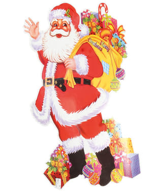 Motivo navideño de Papá Noel