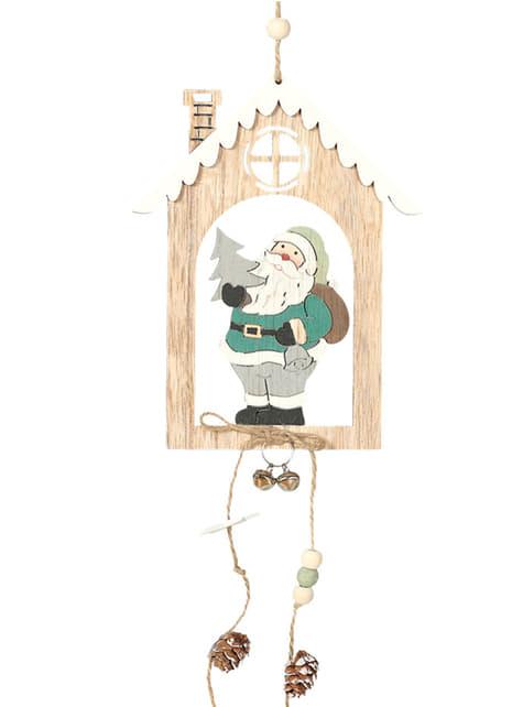 Colgante navideño de Papá Noel