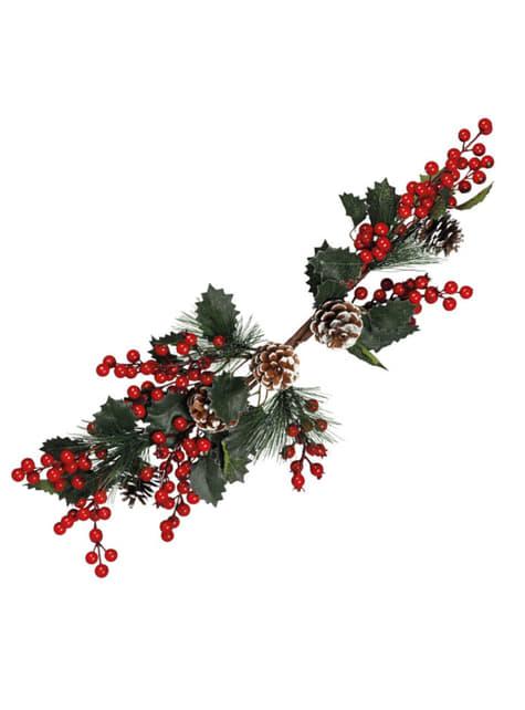 Long Christmas Mistletoe Centerpiece