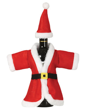 Kryt na lahev vína Santa Claus