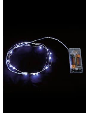 Filo luminoso bianco 20 LED