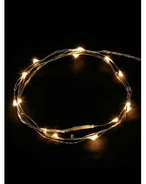Guirlande lumineuse blanc chaud 100 LED