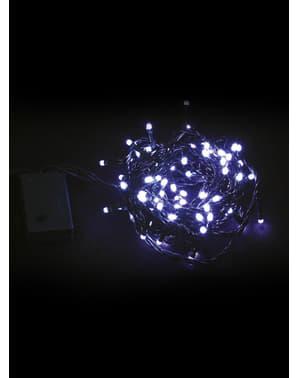 Instalație de Crăciun cu lumini albe multifuncționale