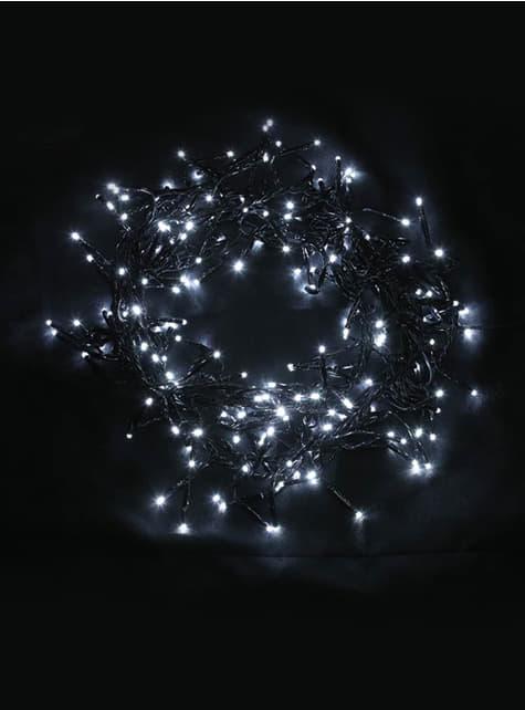 Guirnalda navideña multifunción de luces blanco frío